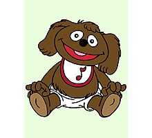 Muppet Babies - Rowlf Photographic Print