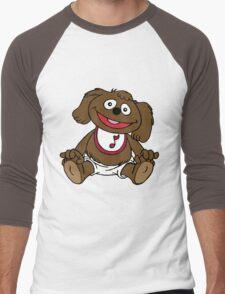 Muppet Babies - Rowlf Men's Baseball ¾ T-Shirt