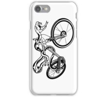 Snake Riding  A Bike iPhone Case/Skin
