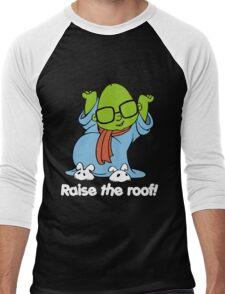 Muppet Babies - Bunsen - Raise The Roof - White Font Men's Baseball ¾ T-Shirt