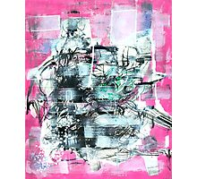 Pink I Photographic Print