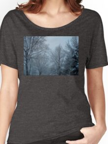 WINTER IN OHIO USA Women's Relaxed Fit T-Shirt