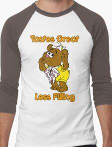 Muppet Babies - Fozzie Bear - Tastes Great - Sucking Thumb Men's Baseball ¾ T-Shirt