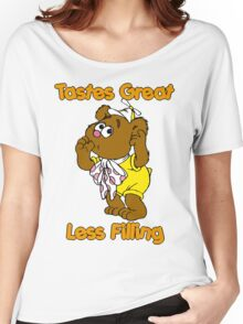 Muppet Babies - Fozzie Bear - Tastes Great - Sucking Thumb Women's Relaxed Fit T-Shirt