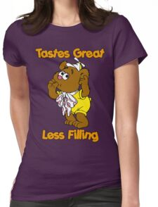 Muppet Babies - Fozzie Bear - Tastes Great - Sucking Thumb Womens Fitted T-Shirt