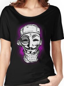 OCCUPY FOR VENDETTA Women's Relaxed Fit T-Shirt