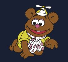 Muppet Babies - Fozzie Bear - Crawling Kids Tee