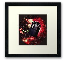 Extra Space-y TARDIS: Version 1 Framed Print