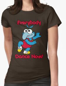 Muppet Babies - Gonzo 01 - Everybody Dance Now Womens Fitted T-Shirt