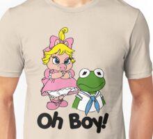 Muppet Babies - Kermit & Miss Piggy - Oh Boy Unisex T-Shirt