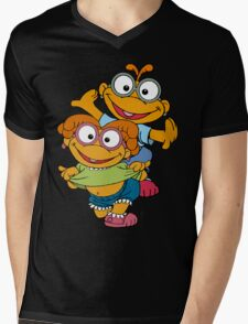 Muppet Babies - Skooter & Skeeter Mens V-Neck T-Shirt