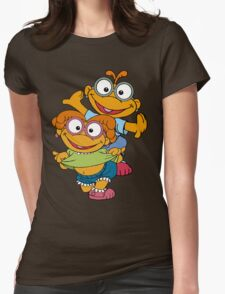 Muppet Babies - Skooter & Skeeter Womens Fitted T-Shirt