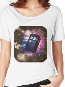 Extra Space-y TARDIS: Version 2 Women's Relaxed Fit T-Shirt