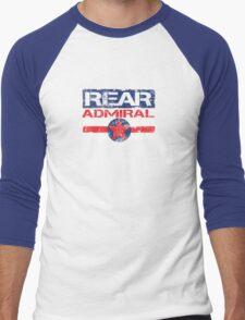 Rear admiral 2 Men's Baseball ¾ T-Shirt