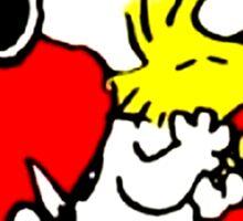 snoopy love Sticker