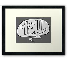TOLL Framed Print