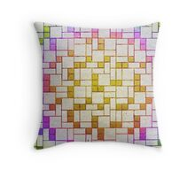 Tetrisy Throw Pillow
