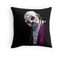 the Joker- Bank robber mask Throw Pillow