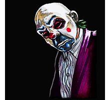 the Joker- Bank robber mask Photographic Print