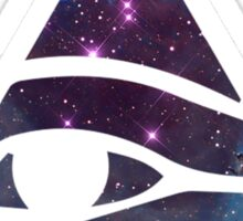 Horus eye Galaxy Sticker