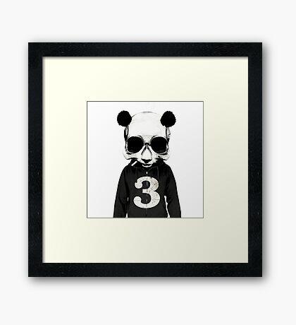 COOL PANDA Framed Print