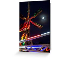 Full Moon Fun Greeting Card