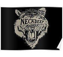Neck Deep Logo Poster