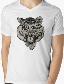 Neck Deep Logo Mens V-Neck T-Shirt