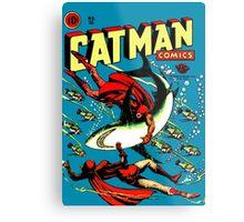 Vintage Catman Comic Book Cover no. 32  Metal Print