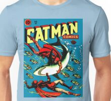 Vintage Catman Comic Book Cover no. 32  Unisex T-Shirt