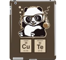 Chemistry panda discovered cute iPad Case/Skin