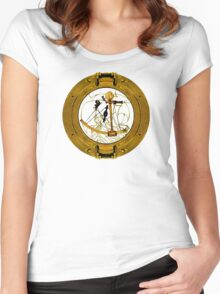 Seas, Sails And Stars Women's Fitted Scoop T-Shirt