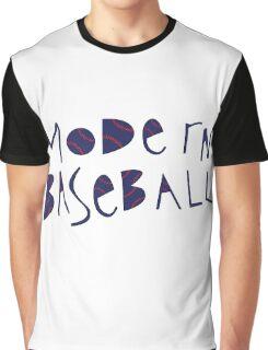 Modern Baseball Logo Graphic T-Shirt