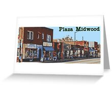 Plaza Midwood - Central Ave Greeting Card