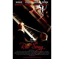 Red Song Teaser Poster Photographic Print