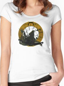 Looking Through A Porthole Of Memories Women's Fitted Scoop T-Shirt