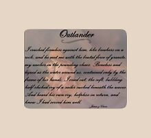 Outlander/Quote from Jamie in the hot spring Unisex T-Shirt