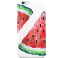 Watercolor Watermelon iPhone Case/Skin