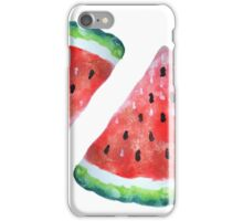Watercolor Watermelon iPhone Case/Skin