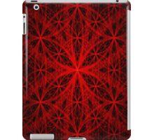 Red Eternity Web Fractal iPad Case/Skin