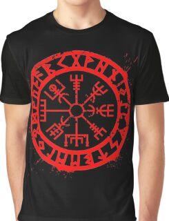 Viking Compass Graphic T-Shirt