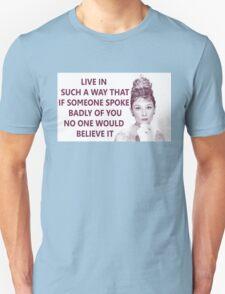 Good Girls - Audrey Hepburn Unisex T-Shirt