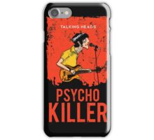 TALKING HEADS : PSYCHO KILLER iPhone Case/Skin
