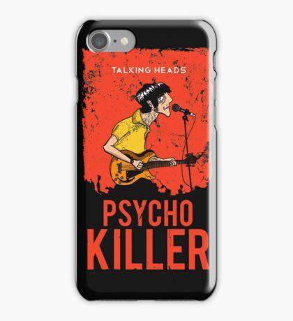 TALKING HEADS : PSYCHO KILLER iPhone Case/Skin