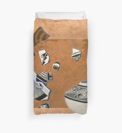 Walk Softly Duvet Cover