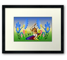 It`s Time To Stop & Smell The Flower`s Framed Print