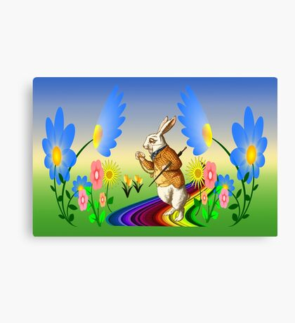 It`s Time To Stop & Smell The Flower`s Canvas Print
