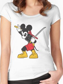 DeadMouse Women's Fitted Scoop T-Shirt