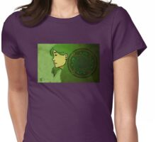 Dana and the Circle of the Enlightened Womens Fitted T-Shirt