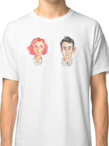 Agent Scully and Agent Mulder Classic T-Shirt